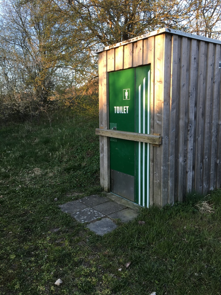 I was out hiking in April. But city management had locked the toilet up - out in the woods. As an END user my problem was then solved by doing it in the woods. And all fancy sheds where for naught.
